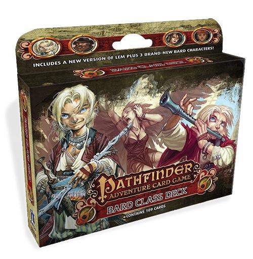 Pathfinder Adventure Card Game: Bard Class Deck Box Front