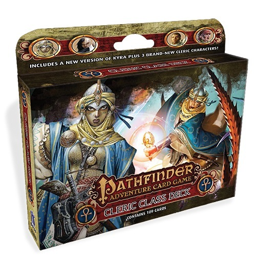 Pathfinder Adventure Card Game: Cleric Class Deck Box Front