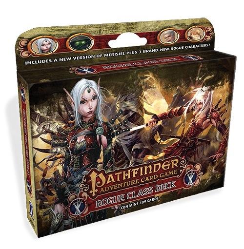 Pathfinder Adventure Card Game: Rogue Class Deck Box Front