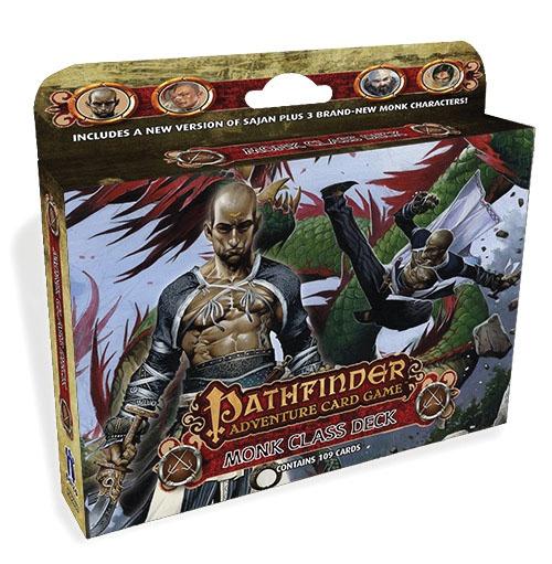 Pathfinder Adventure Card Game: Monk Class Deck Box Front