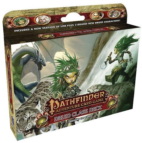 Pathfinder Adventure Card Game: Druid Class Deck Box Front
