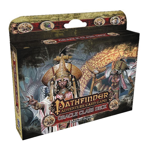 Pathfinder Adventure Card Game: Oracle Class Deck Box Front
