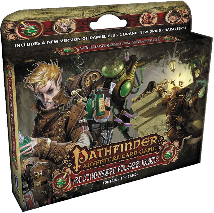 Pathfinder Adventure Card Game: Alchemist Class Deck Box Front