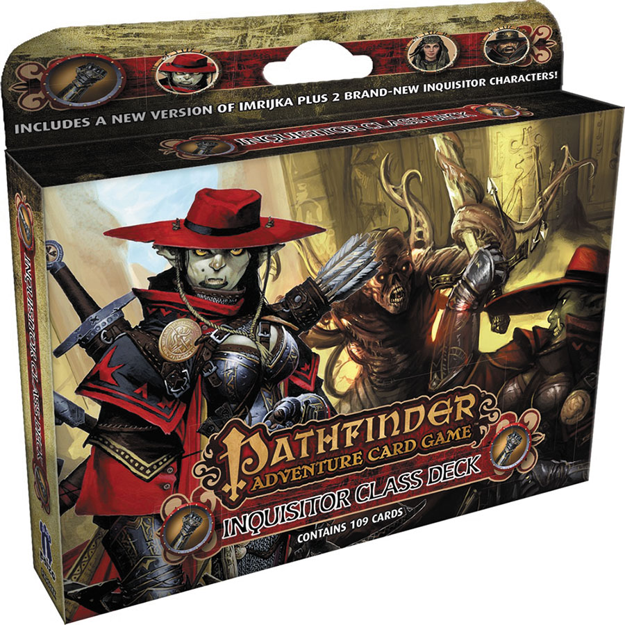 Pathfinder Adventure Card Game: Inquisitor Class Deck Box Front