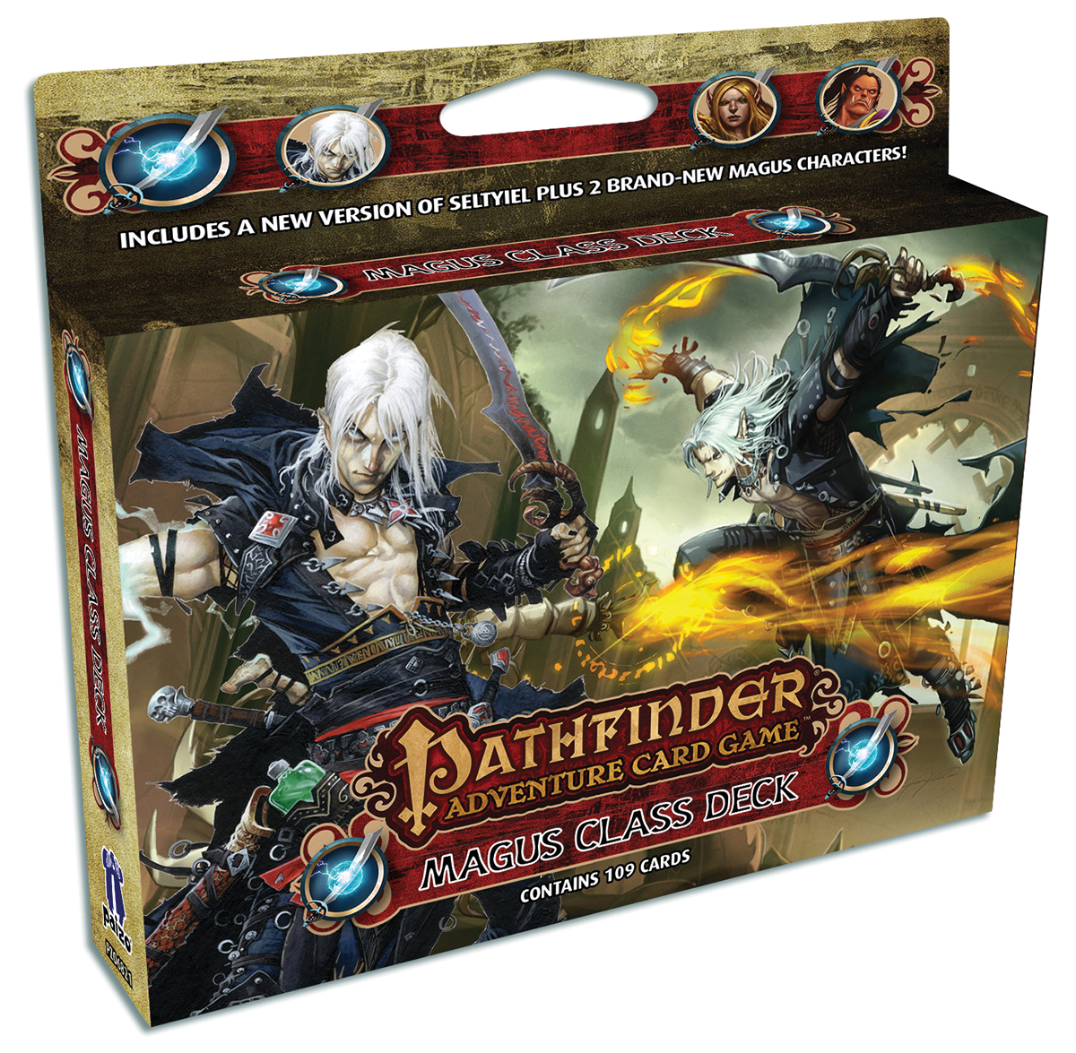 Pathfinder Adventure Card Game: Magus Class Deck Box Front