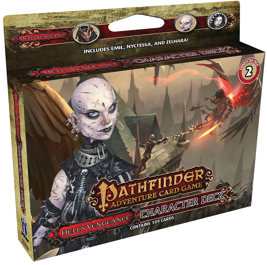 Pathfinder Adventure Card Game: Hell`s Vengeance Character Deck 2 Box Front