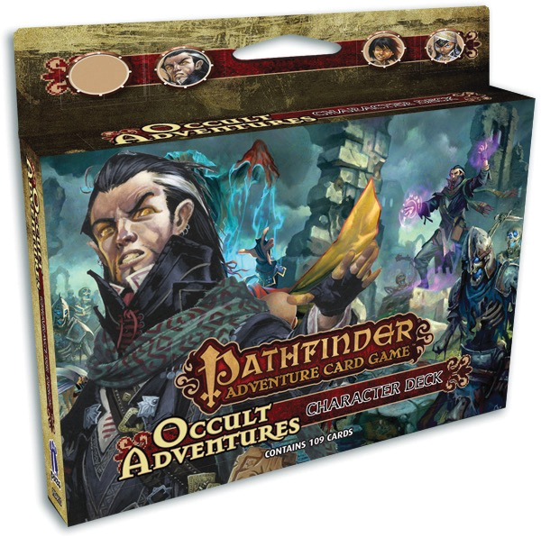 Pathfinder Adventure Card Game: Occult Adventures Character Deck 1 Box Front