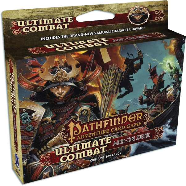 Pathfinder Adventure Card Game: Ultimate Combat Add-on Deck Box Front