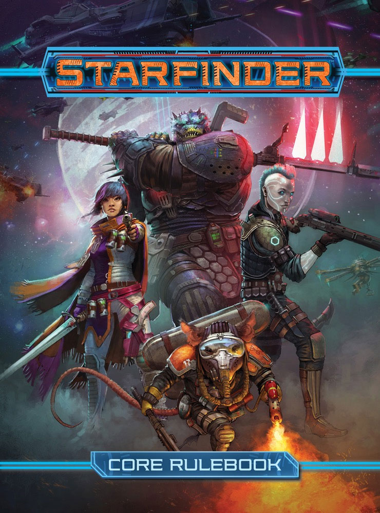 Starfinder Rpg: Core Rulebook Hardcover Box Front