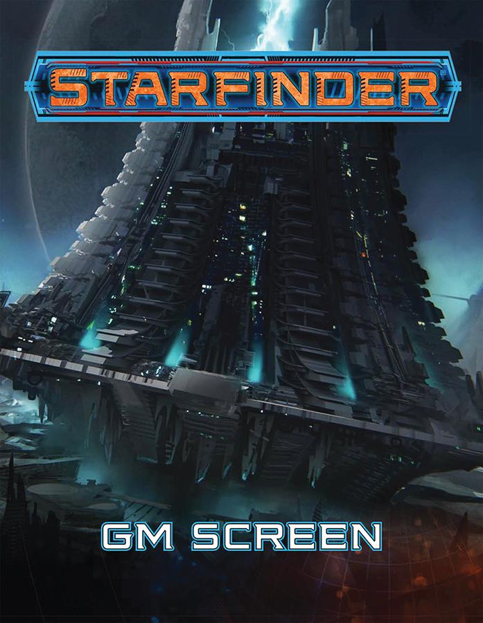 Starfinder Rpg: Gm Screen Box Front
