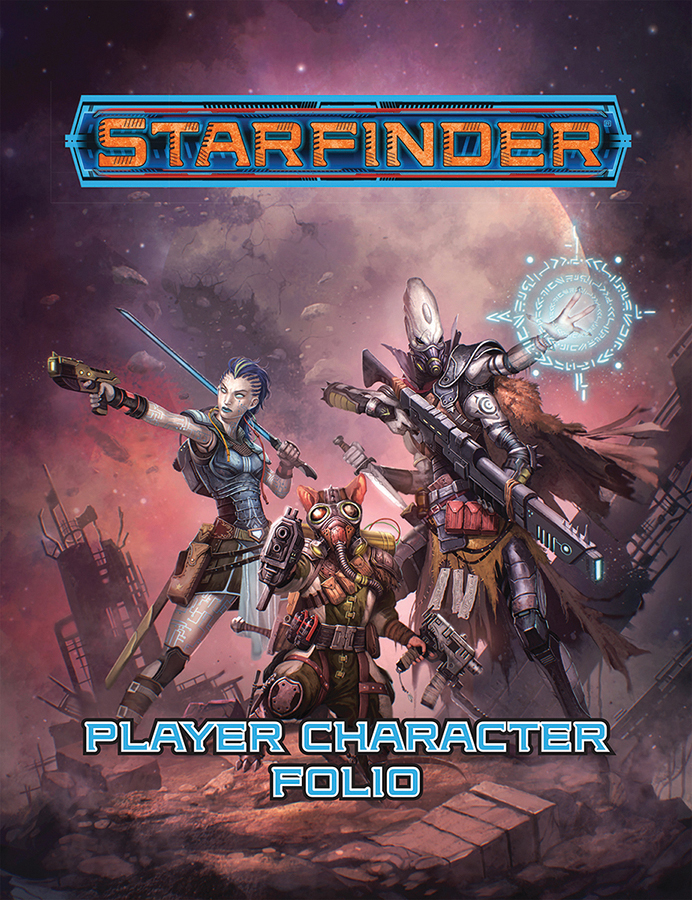 Starfinder Rpg: Player Character Folio Box Front