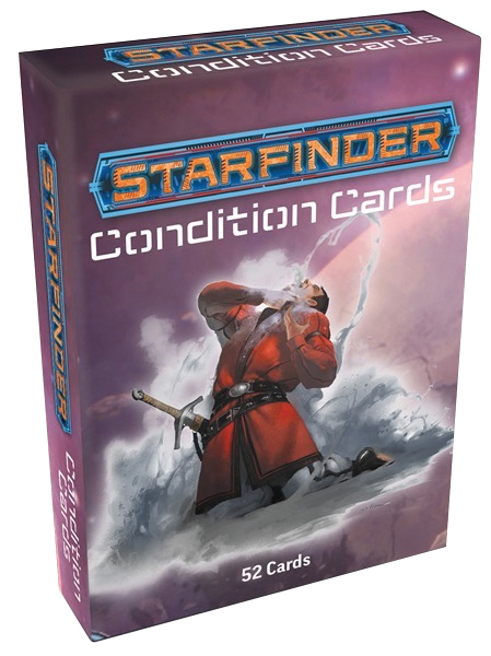 Starfinder Rpg: Condition Cards Box Front