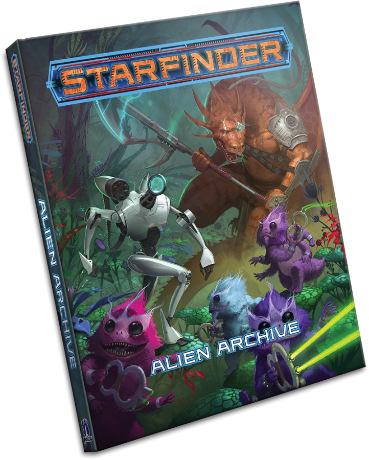 Starfinder Rpg: Alien Archive Hardcover Box Front