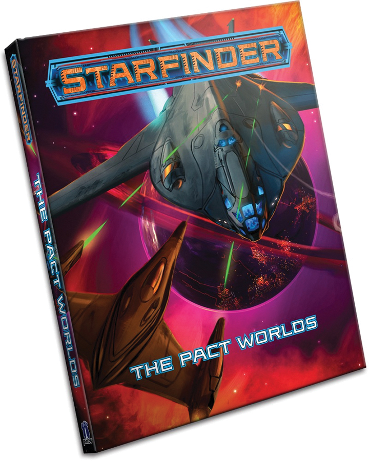 Starfinder Rpg: Pact Worlds Hardcover Box Front