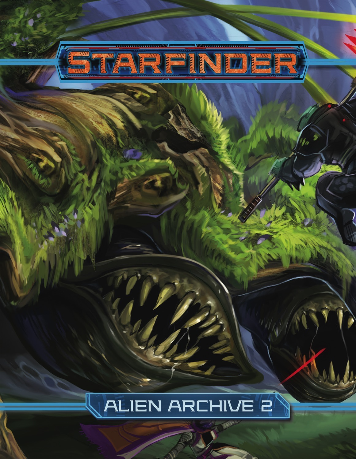 Starfinder Rpg: Alien Archive 2 Hardcover Box Front
