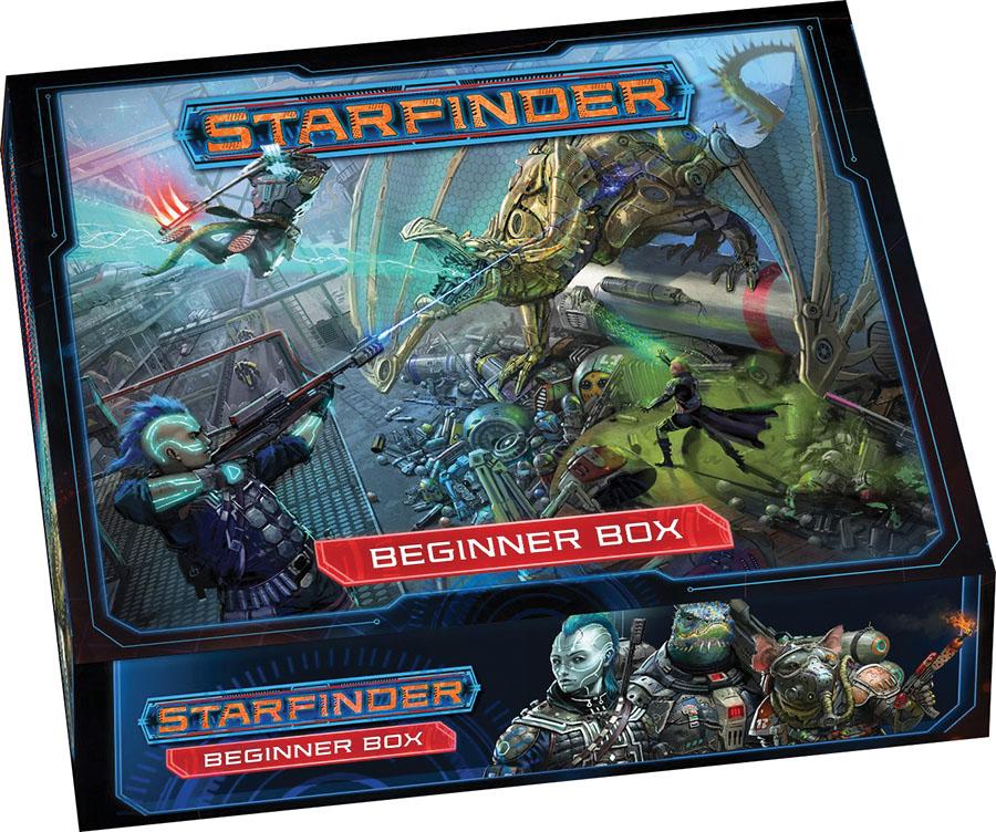 Starfinder Rpg: Beginner Box Game Box