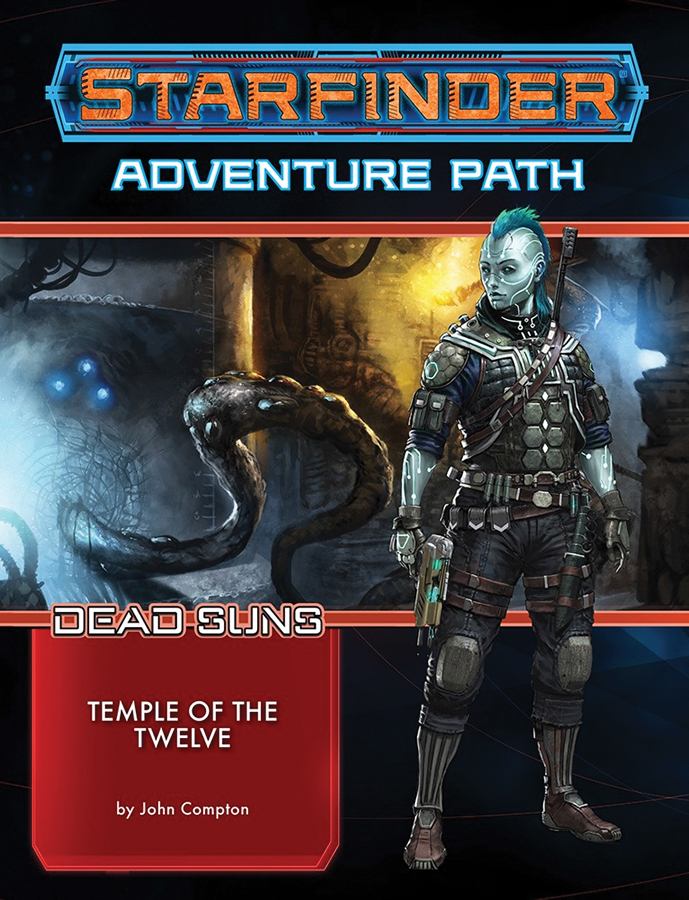 Starfinder Rpg: Adventure Path - Dead Suns Part 2 - Temple Of The Twelve Box Front