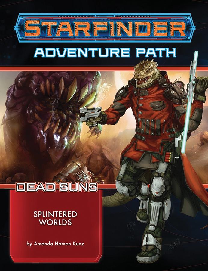 Starfinder Rpg: Adventure Path - Dead Suns Part 3 - Splintered Worlds Box Front