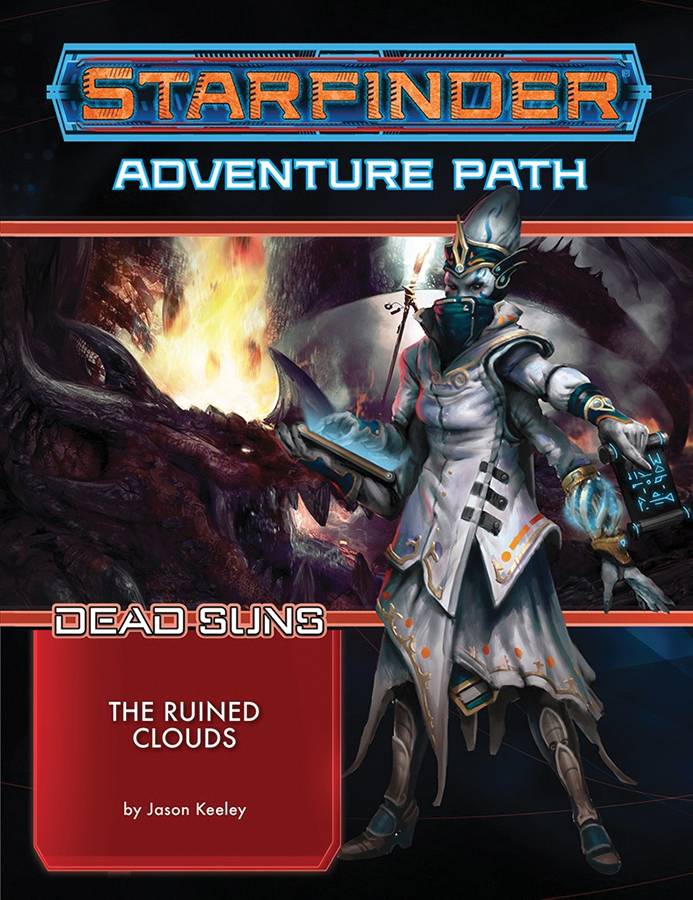 Starfinder Rpg: Adventure Path - Dead Suns Part 4 - The Ruined Clouds Box Front