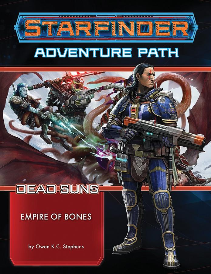 Starfinder Rpg: Adventure Path - Dead Suns Part 6 - Empire Of Bones Box Front