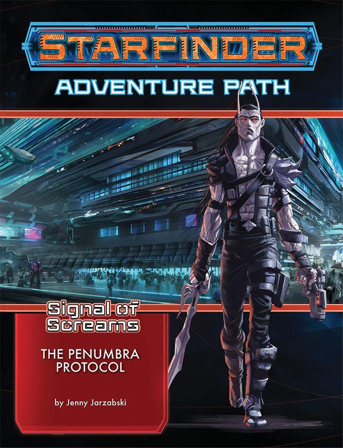 Starfinder Rpg: Adventure Path - Signal Of Screams 2 - The Penumbra Protocol Game Box