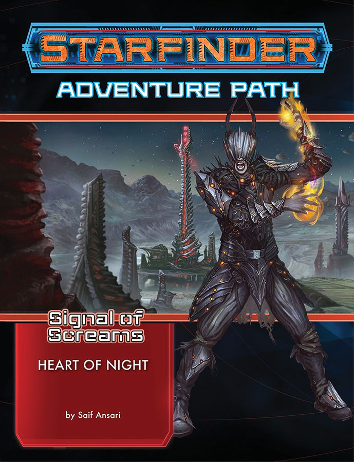Starfinder Rpg: Adventure Path - Signal Of Screams 3 - Heart Of Night Game Box