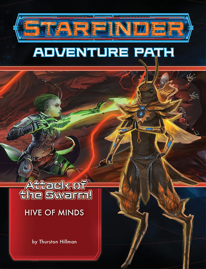Starfinder Rpg: Adventure Path - Attack Of The Swarm! 5 - Hive Of Minds Game Box