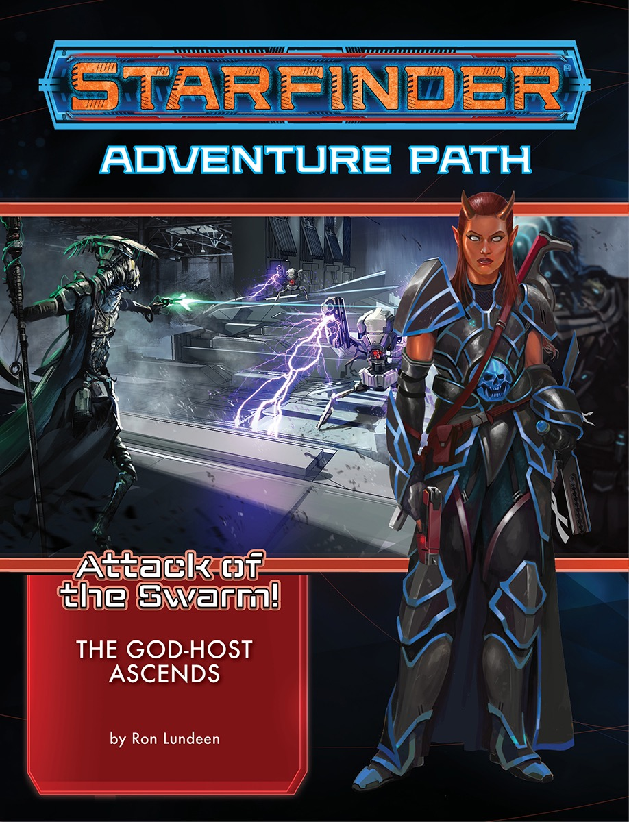 Starfinder Rpg: Adventure Path - Attack Of The Swarm! 6 - The God-host Ascends