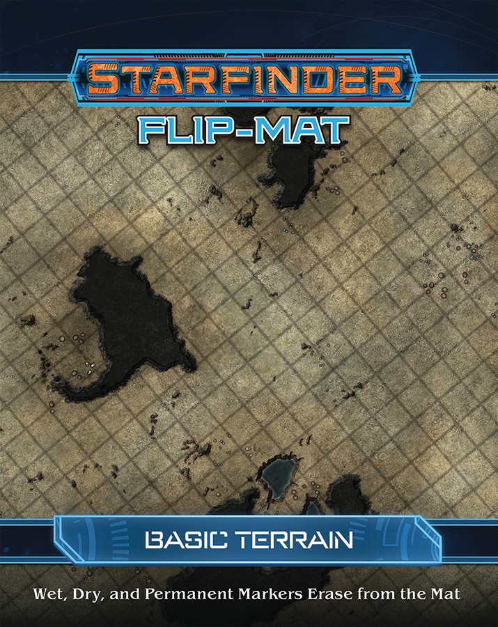 Starfinder Rpg: Flip-mat - Basic Terrain Box Front