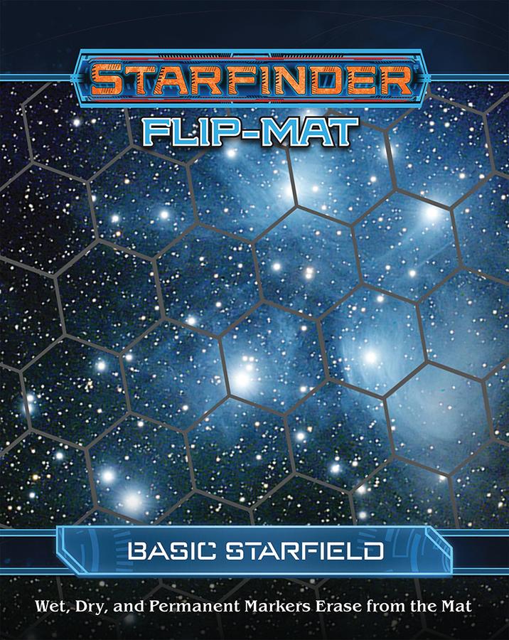 Starfinder Rpg: Flip-mat - Basic Starfield Box Front
