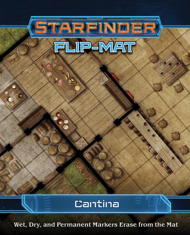 Starfinder Rpg: Flip-mat - Cantina Box Front