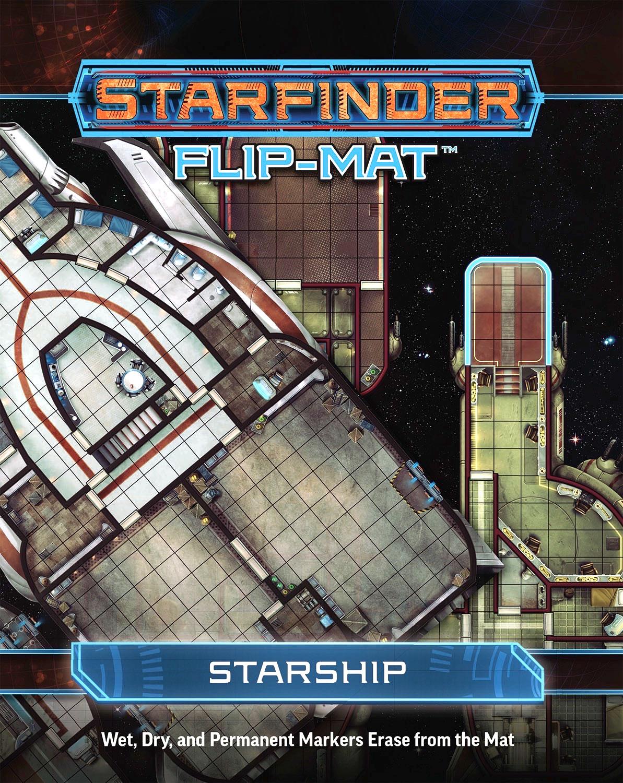 Starfinder Rpg: Flip-mat - Starship Box Front