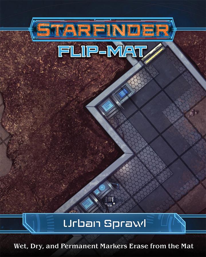 Starfinder Rpg: Flip-mat - Urban Sprawl Box Front