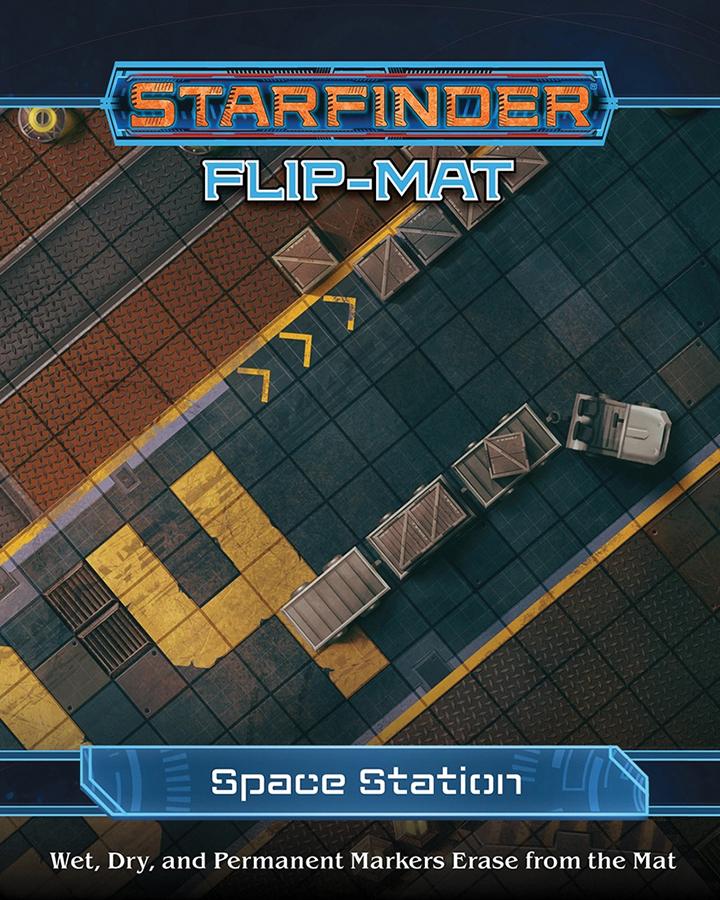 Starfinder Rpg: Flip-mat - Space Station Box Front