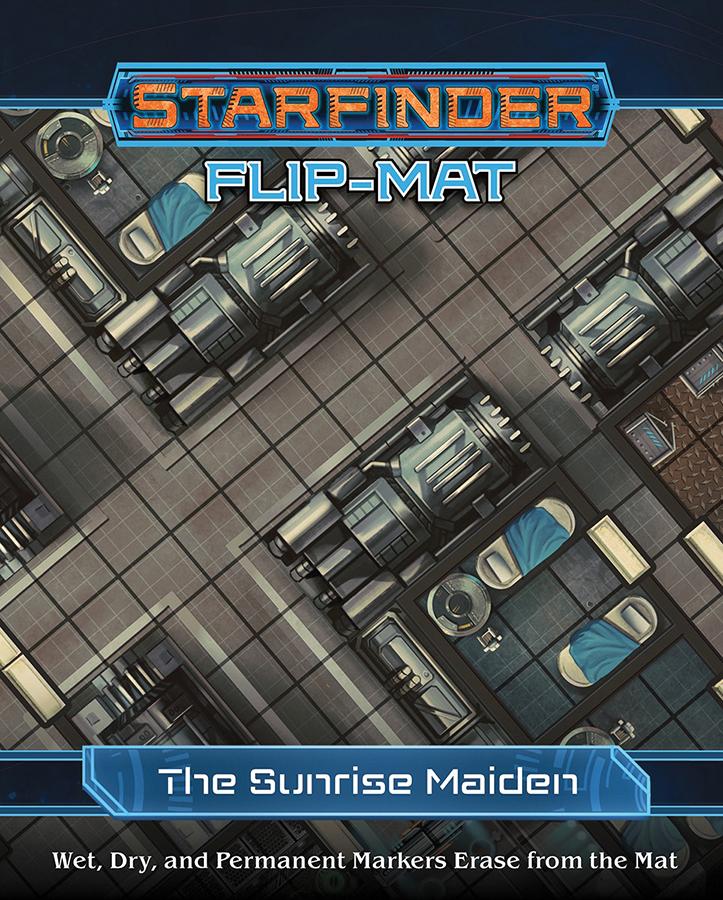 Starfinder Rpg: Flip-mat - Starship - The Sunrise Maiden Box Front