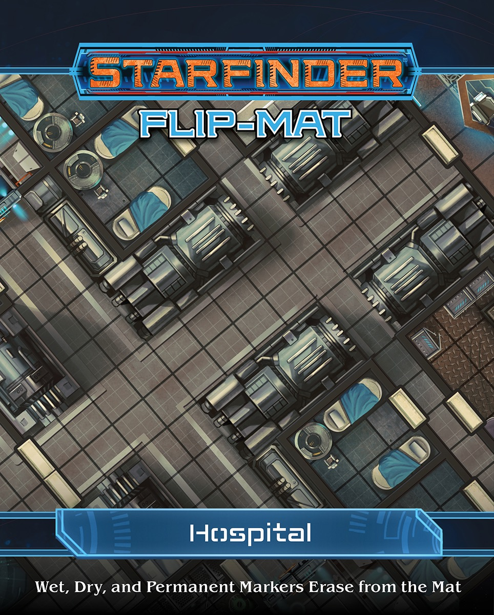 Starfinder Rpg: Flip-mat - Hospital Box Front