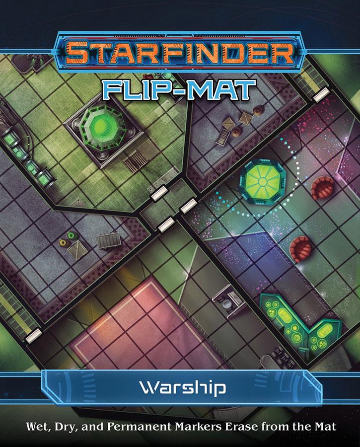 Starfinder Rpg: Flip-mat - Warship Game Box