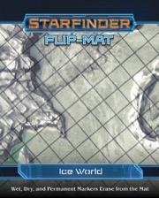 Starfinder Rpg: Flip-mat - Ice World Game Box