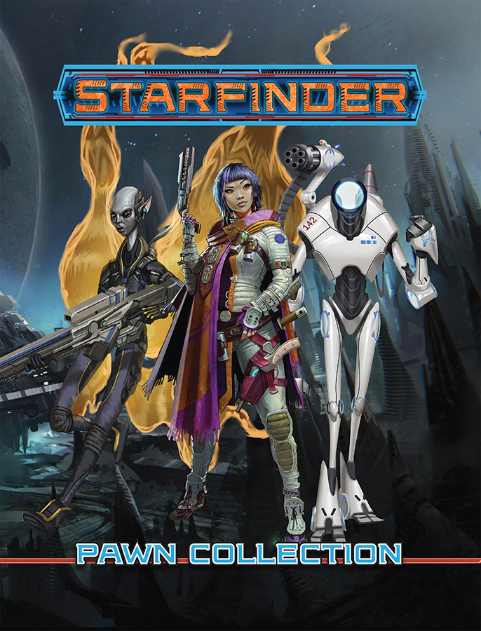 Starfinder Rpg: Pawns - Core Pawn Collection Box Front