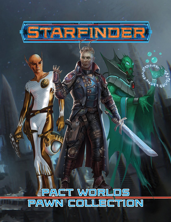 Starfinder Rpg: Pawns - Pact Worlds Pawn Collection Box Front