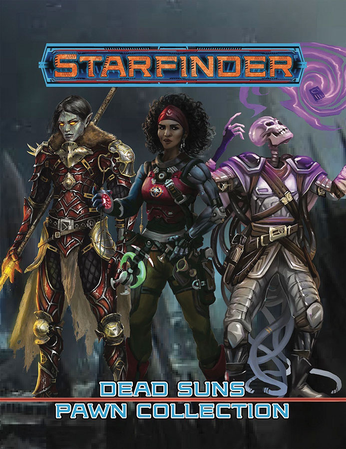 Starfinder Rpg: Pawns - Dead Suns Pawn Collection Box Front