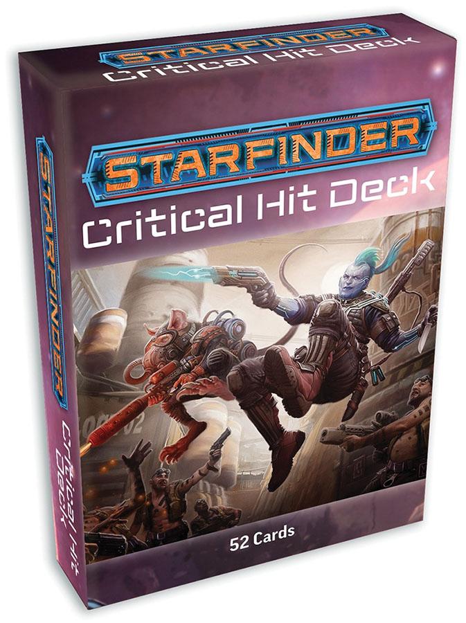 Starfinder Rpg: Critical Hit Deck Game Box