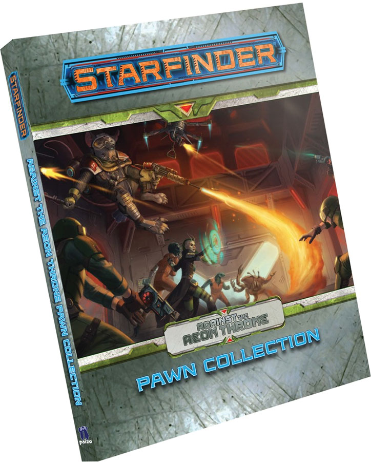Starfinder Rpg: Pawns - Against The Aeon Throne Pawn Collection Game Box