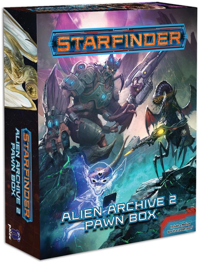 Starfinder Rpg: Pawns - Alien Archive 2 Pawn Box Game Box