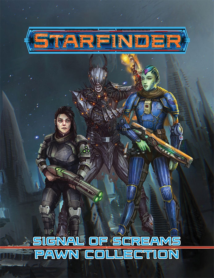 Starfinder Rpg: Pawns - Signal Of Screams Pawn Collection Game Box