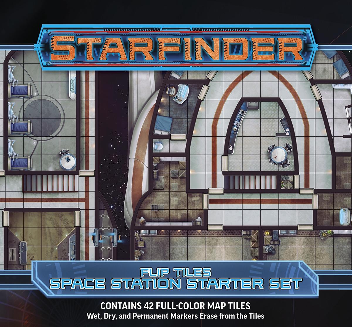 Starfinder Rpg: Flip-tiles - Space Station Starter Set