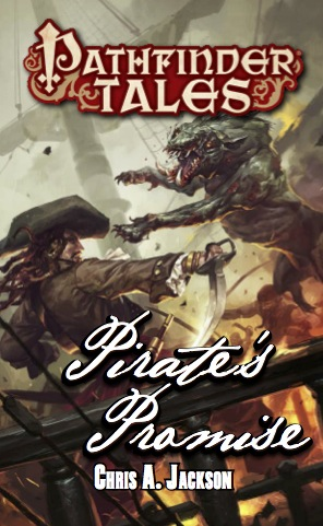 Pathfinder Tales: Pirates Promise Paperback Box Front