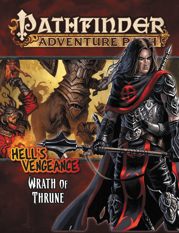 Pathfinder Rpg: Adventure Path - Hell`s Vengeance Part 2 - Wrath Of Thrune Box Front