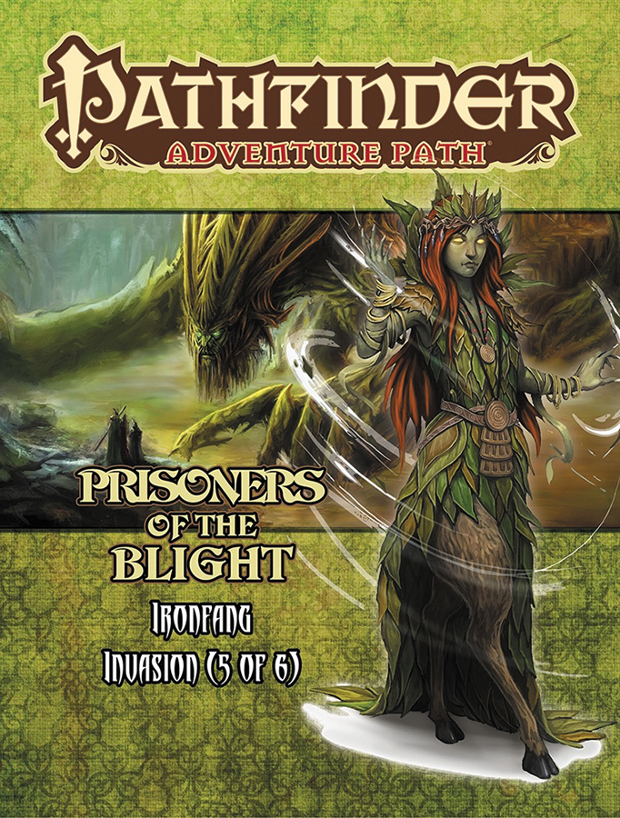 Pathfinder Rpg: Adventure Path - Ironfang Invasion Part 5 - Prisoners Of The Blight Box Front