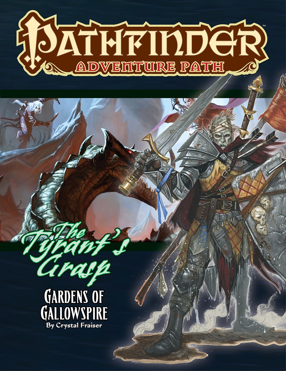 Pathfinder Rpg: Adventure Path - The Tyrant`s Grasp Part 4 - Gardens Of Gallowspire Game Box